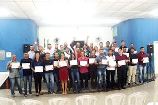 Alunos da Escola de Eletricistas de Registro-SP são certificados