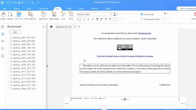 كيفية إنشاء دمج تعديل ملف PDF مع برنامج Wondershare PDFelement