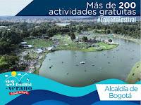 Actividades Festival de Verano de Bogotá 2019