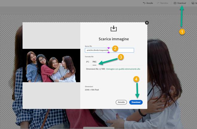 download foto sfondo trasparente