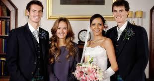 Jamie Murray And Alejandra Gutierrez On The Day They Got Married