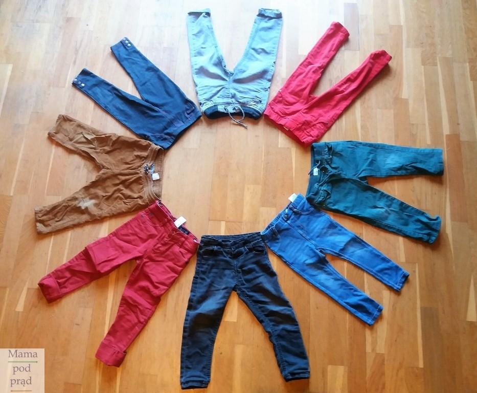 Spodnie dziecięce dla chłopców i dziewczynek, czyli skąd te różnice?