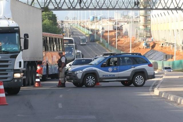 Polícia Militar da Bahia lança nova estratégia de blitz na capital baiana