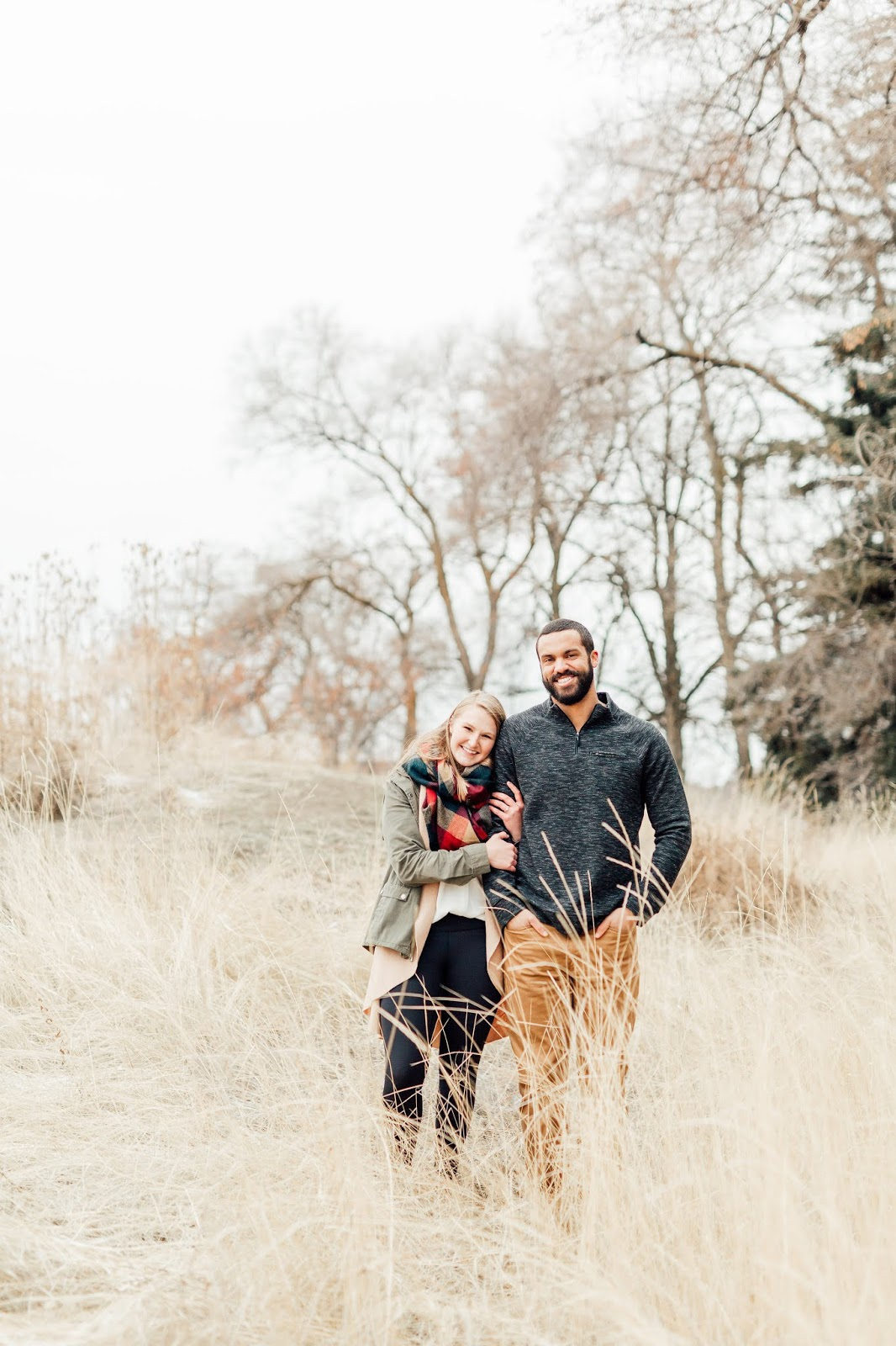 Winter Engagement Session-Spokane Photographers-Something Minted Photography