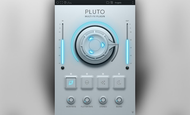 Interface do plugin Cymatics - Pluto 1.0.1