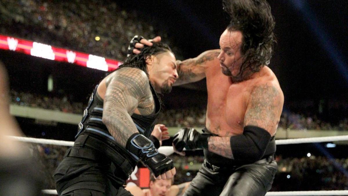 The Undertaker gostaria de trabalhar novamente com Roman Reigns