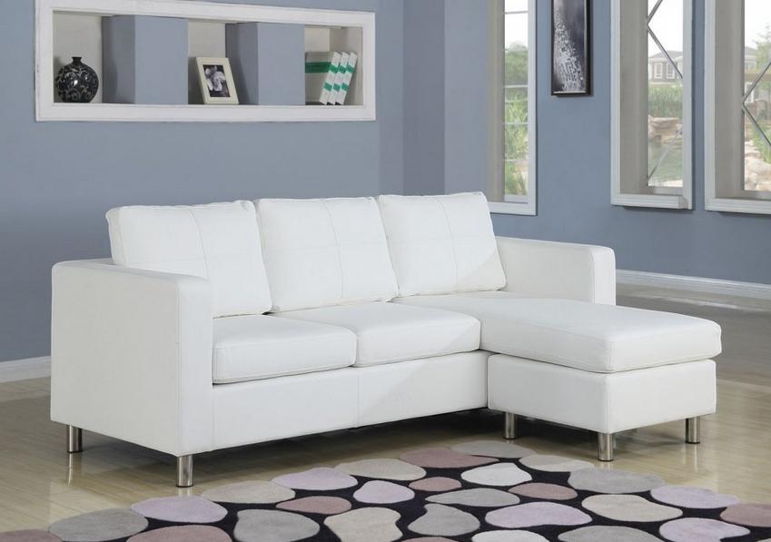 Gambar Sofa Bed Minimalis Warna Putih Lengkap Dengan Harga