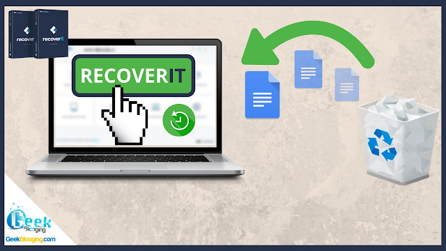 How to Recover Lost / Deleted Files with RecoverIT [Retrieve DATA] | 2020