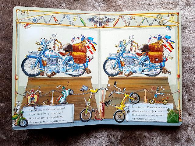 Znikające królestwo. Przewodnik po świecie zagrożonych zwierząt - Opowiem Ci mamo, co jeździ na dwóch kołach - puzzle Nasza Księgarnia - Dinozaury - Jestem przedszkolakiem -książki dla dzieci - prezentownik