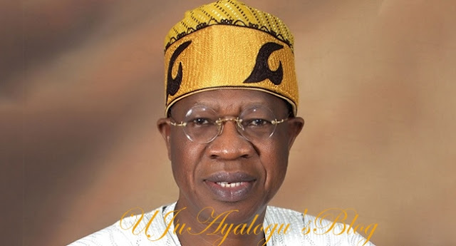 Buhari is not bothered about 2019 elections- Lai Mohammed