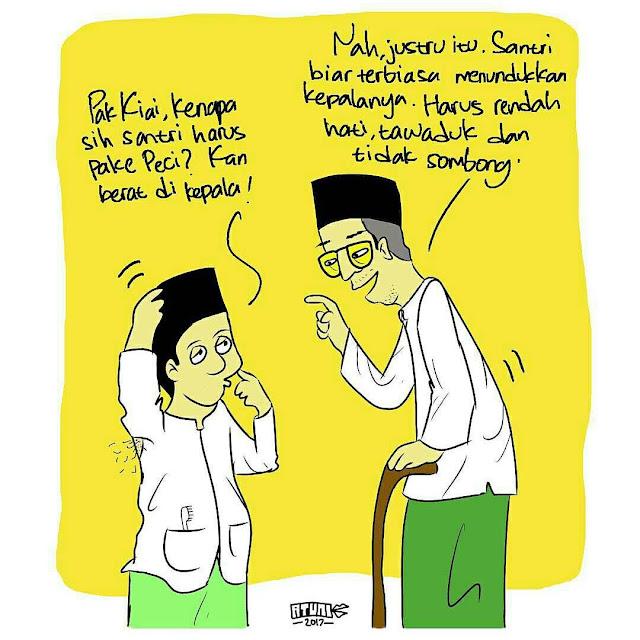 Motivasi Santri : Kartun Nasehat Untuk Para Santri Yang Sangat Bermanfaat