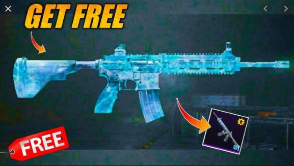 Glacier M416, AKM Hellfire, Free Pubg Mobile Gun Skins
