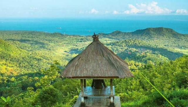 Keindahan Alam Bukit Putung Di Pulau Bali