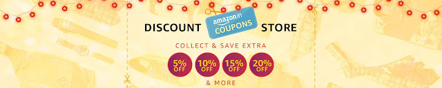 Collect Discount Coupons from Amazon