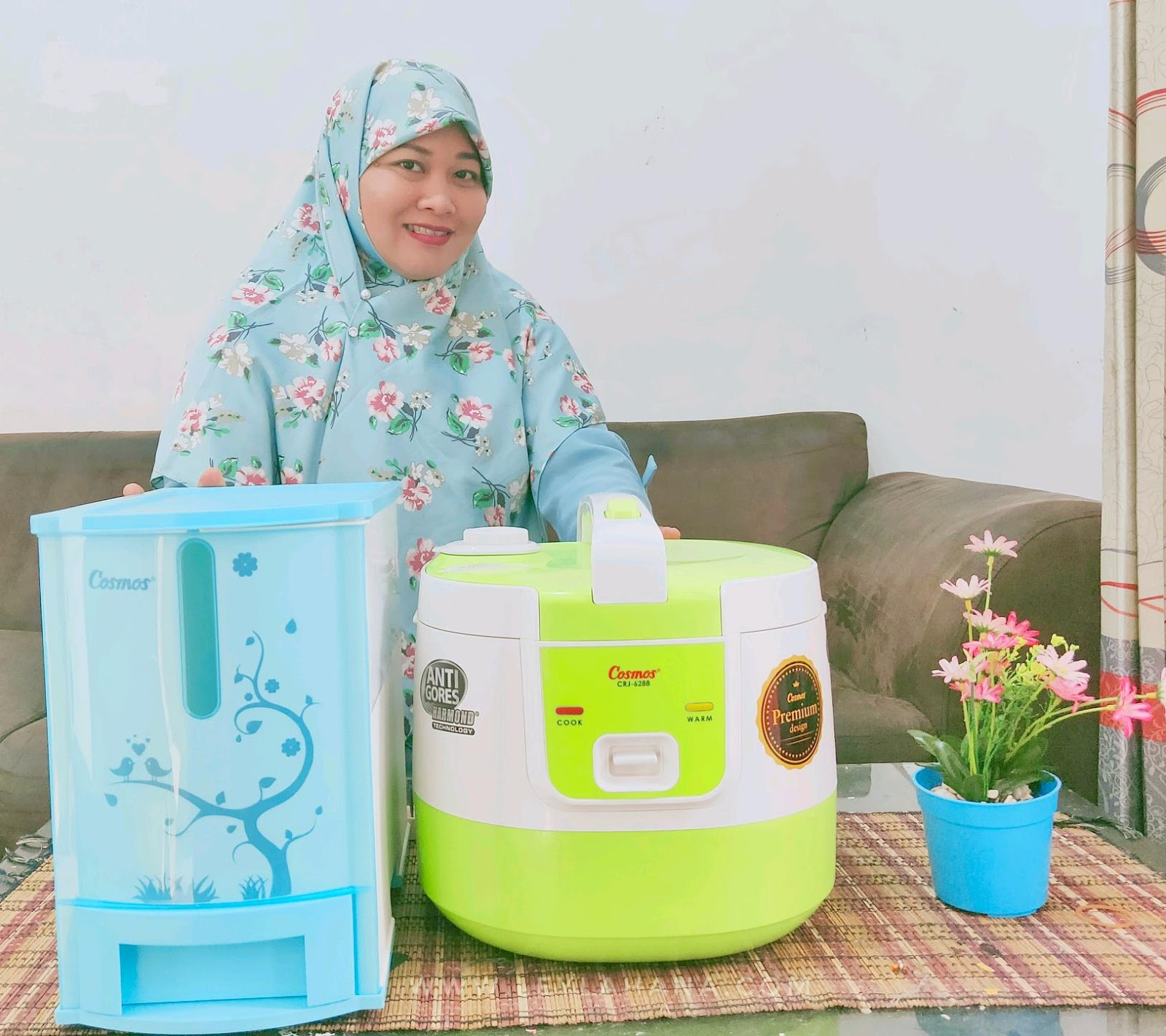 Cara Masak Nasi Sehat Dengan Rice Cooker Cosmos Harmond Leyla Hana