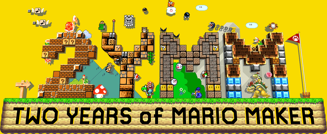 Two Years of Mario Maker - Mario Maker