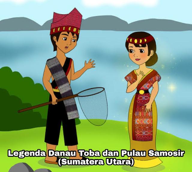 Kisah Asal Mula Danau Toba dan Pulau Samosir – Legenda Sumatera Utara