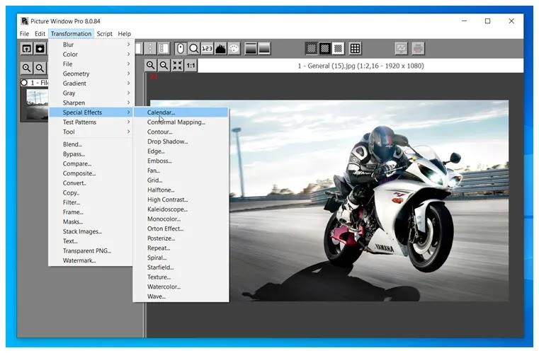 Picture Window Pro 8 :  Ισχυρό εργαλείο επεξεργασίας εικόνων  για απαιτητικούς