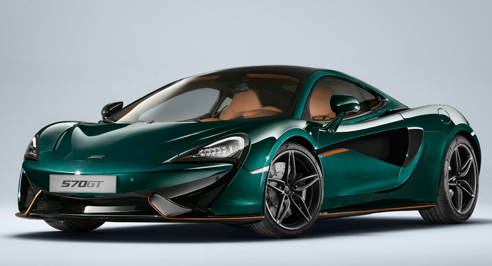 MSO Will Only Make Six Of These Classic British Green McLaren 570GTs