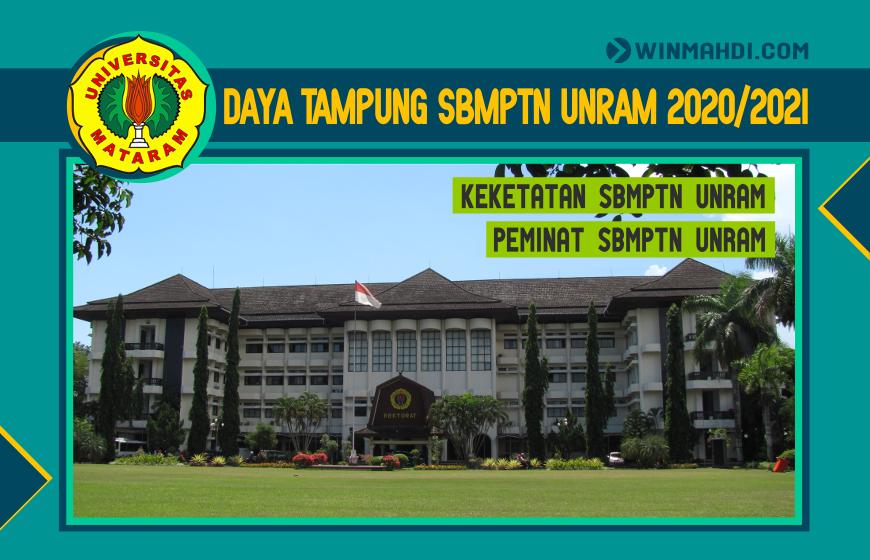 DAYA TAMPUNG SBMPTN UNRAM 2020-2021