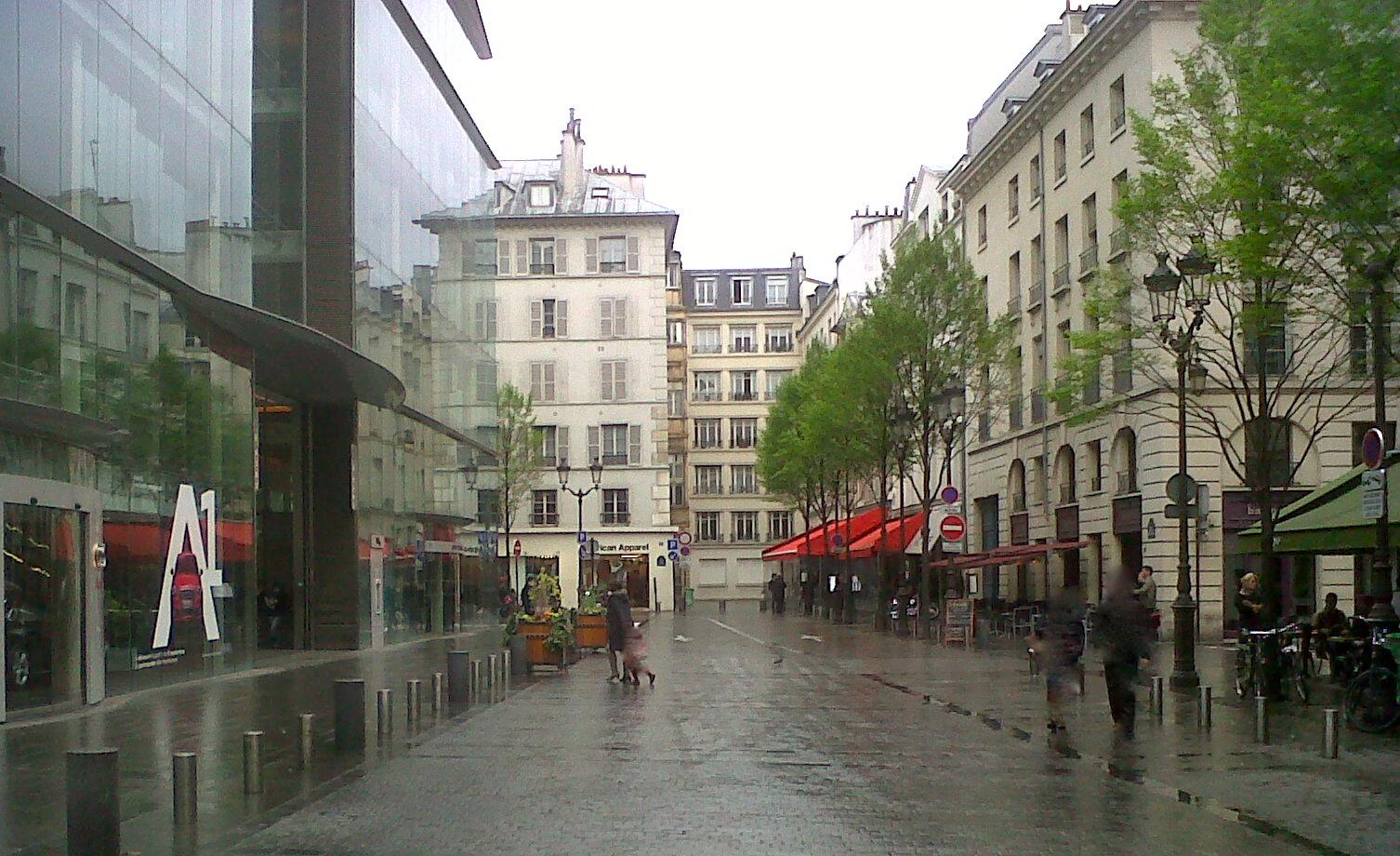 Restaurant Place Du Marche St Honore