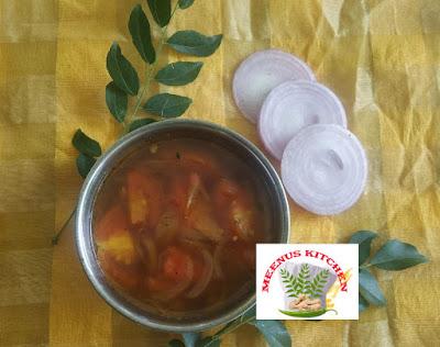 Tomato curry  Kerala Style