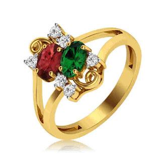Fantasy Duo Diamond ring