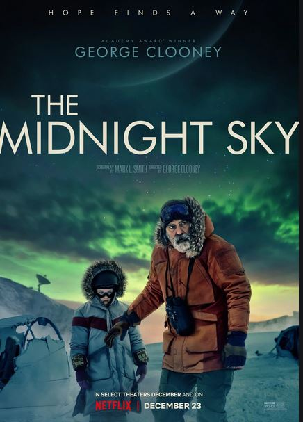 The Midnight Sky (2020) Hindi Dubbed Full Movie Watch Online HD Print Free Download