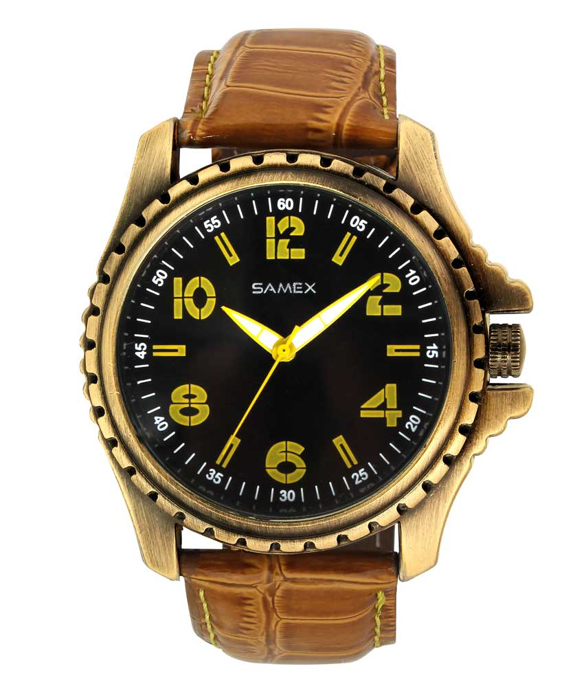 Leather Watch Online Best Price