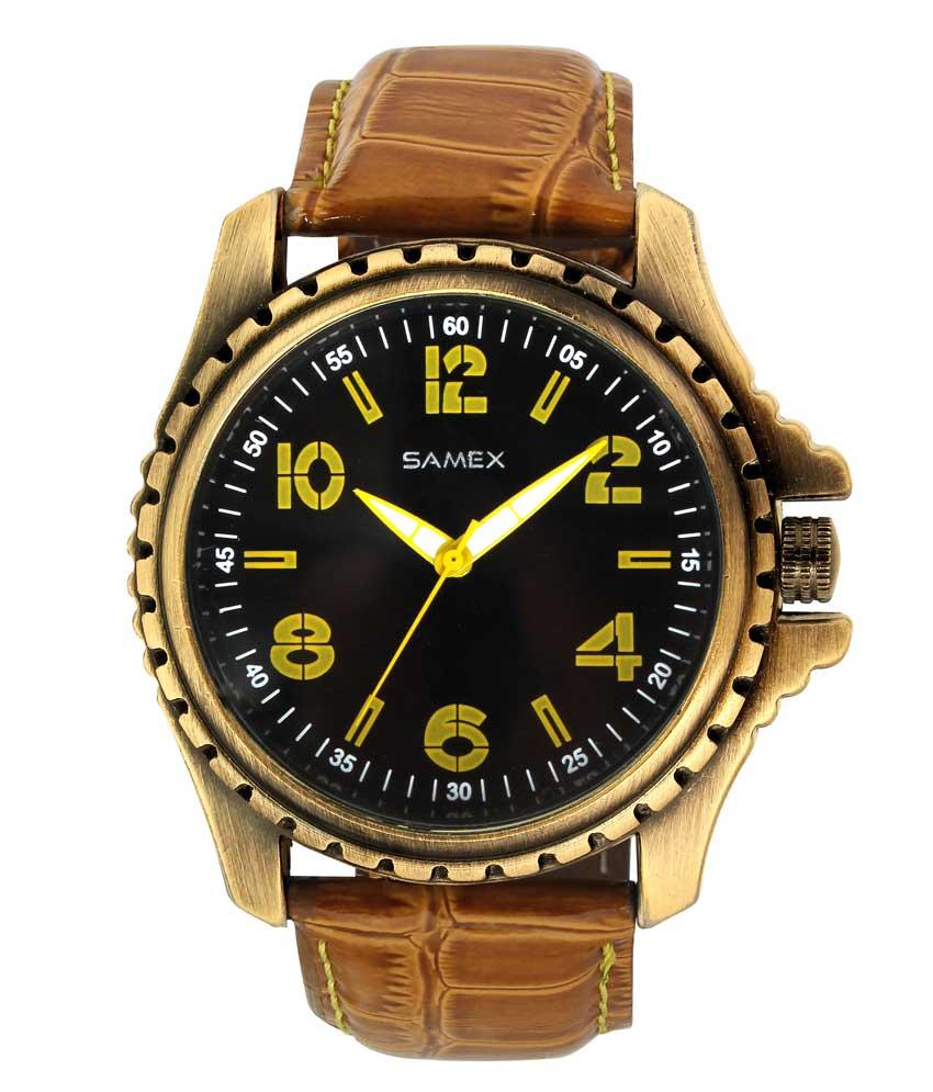 Leather Watch Online Best Price