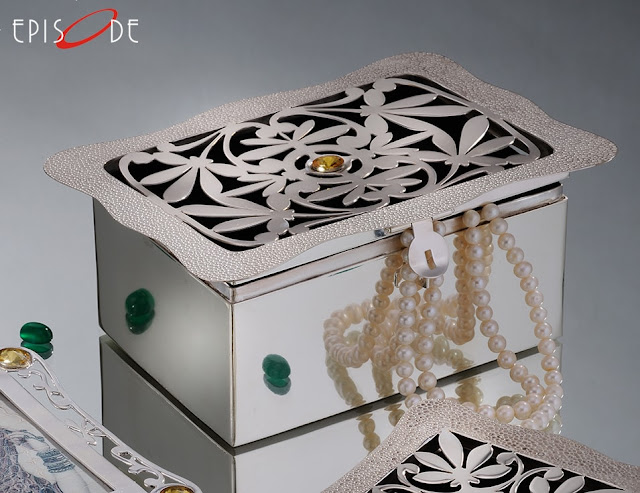 Silver Jewellery Box by Episode