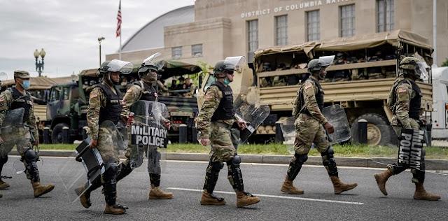 Unjuk Rasa Kian Memanas, Pentagon Pindahkan Ribuan Tentara ke Washington