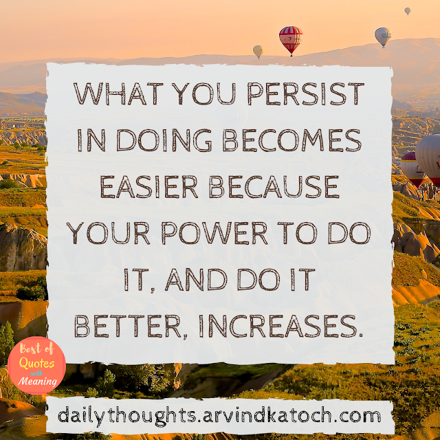 persist, doing, power