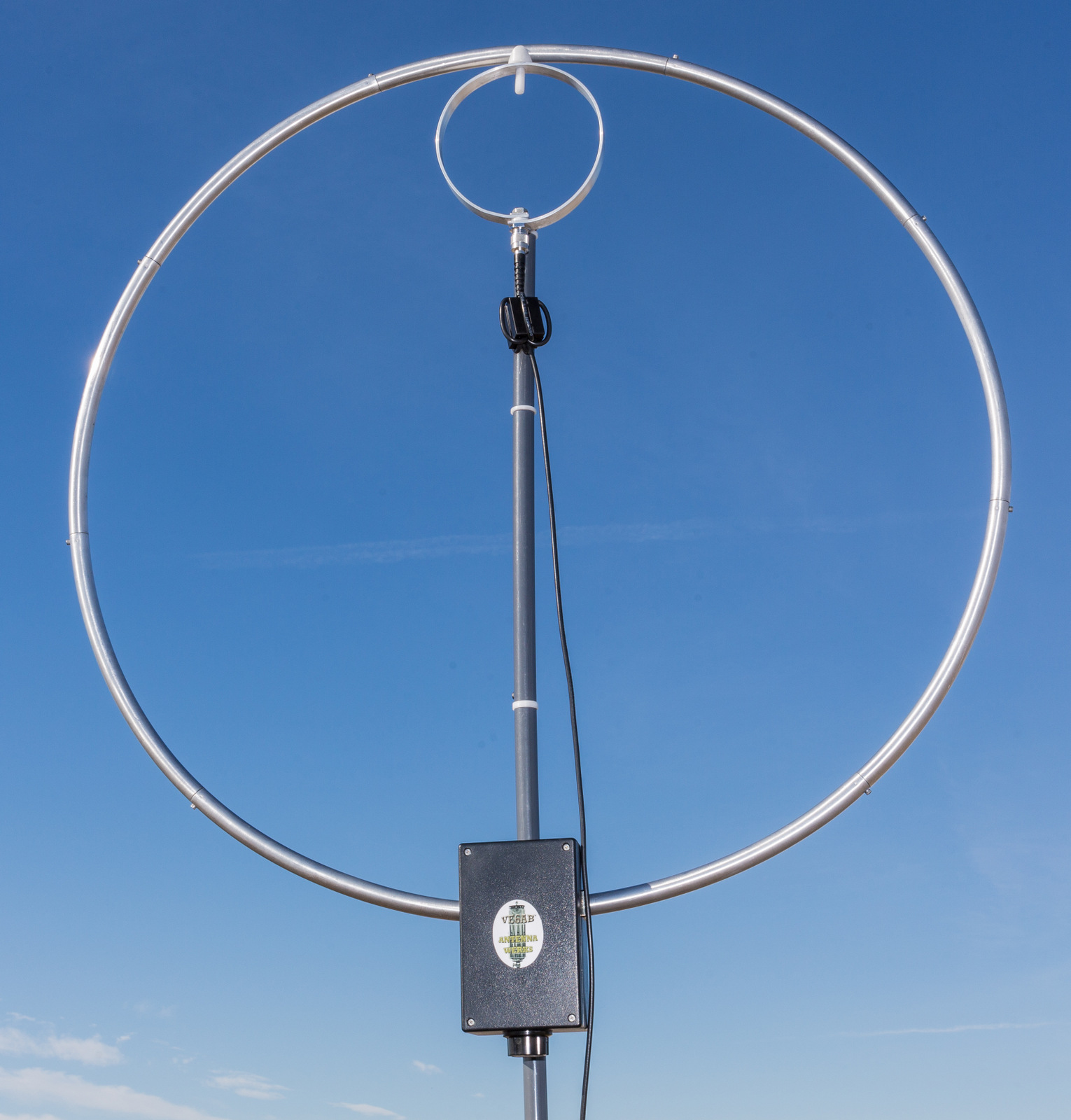 Jerry's Journal: Takedown Magnetic Loop Antenna