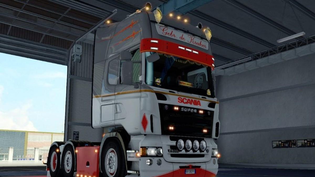 Scania RJL Gebr. de Kraker Skin