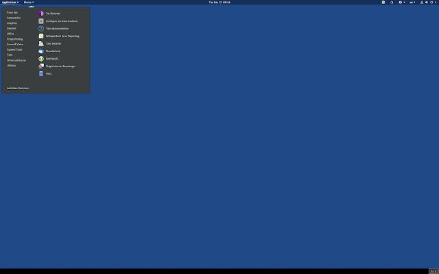 Tails 4.22, con mejoraras en el asistente de conexión Tor