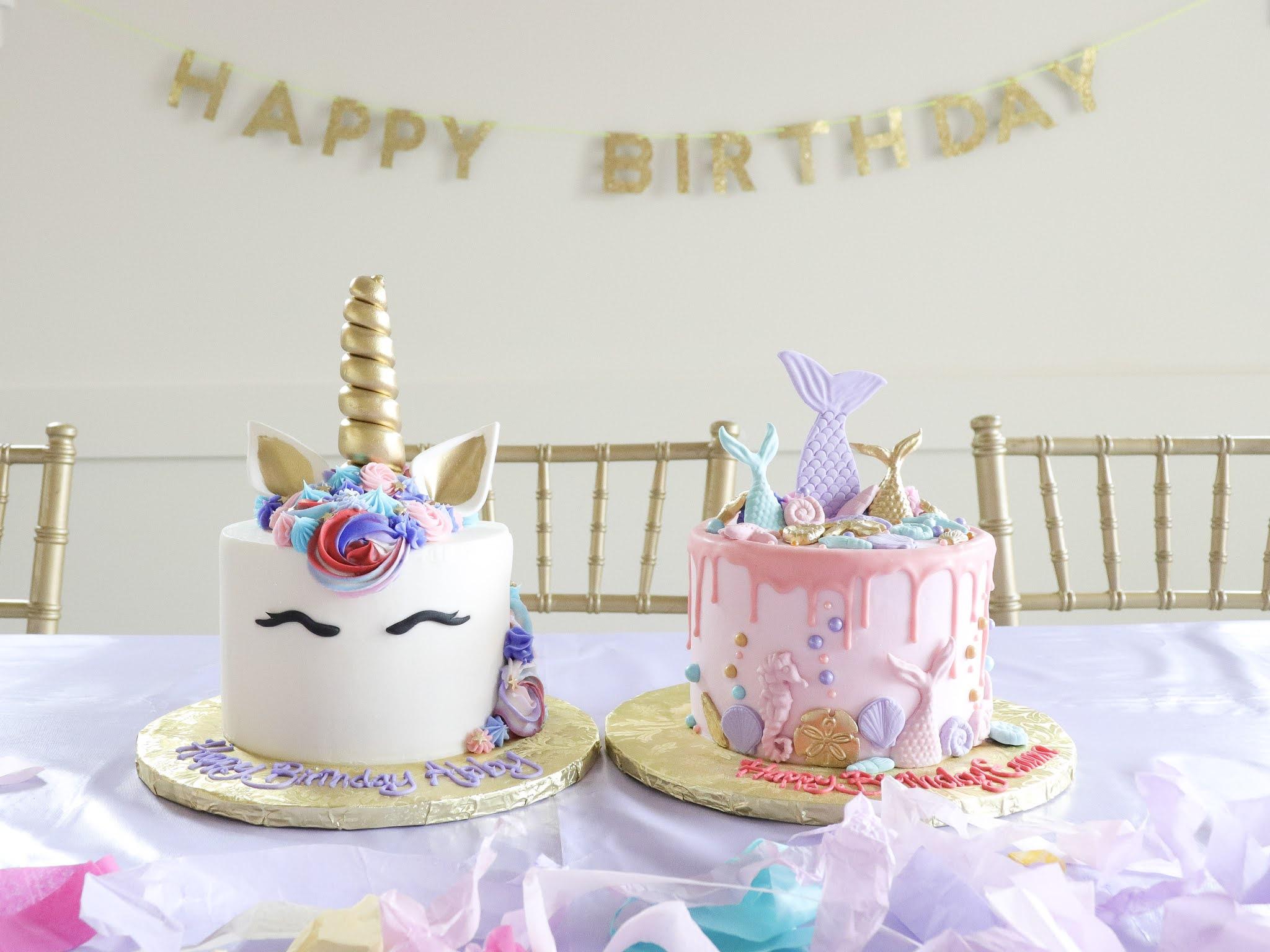 mermaid unicorn birthday