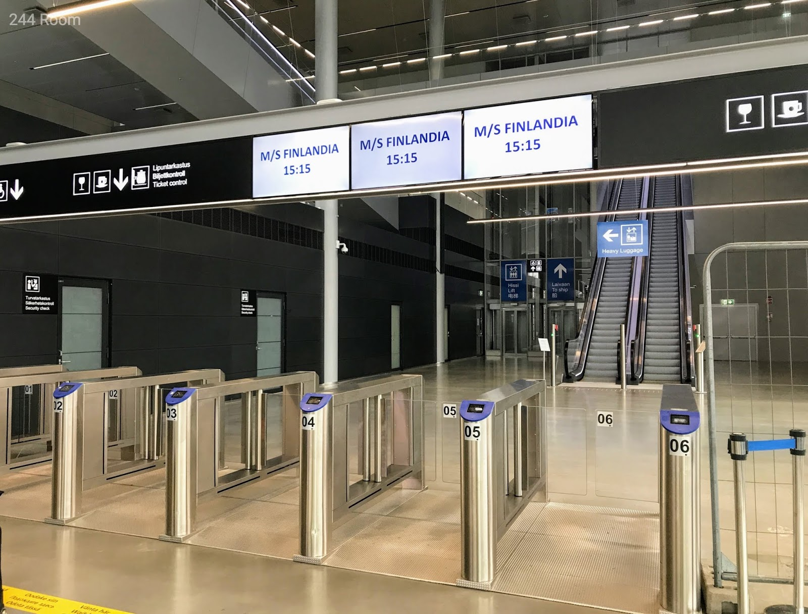 Tallinksilja line gate