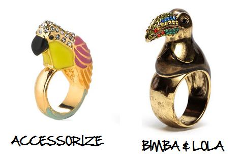 Clones 2011 anillos Bimba Accesorize