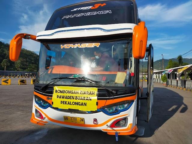Suket Rafid Tes Kedaluwarsa, Satu Rombongan Bus Ziarah Kembali Ke Pelabuhan Asal.