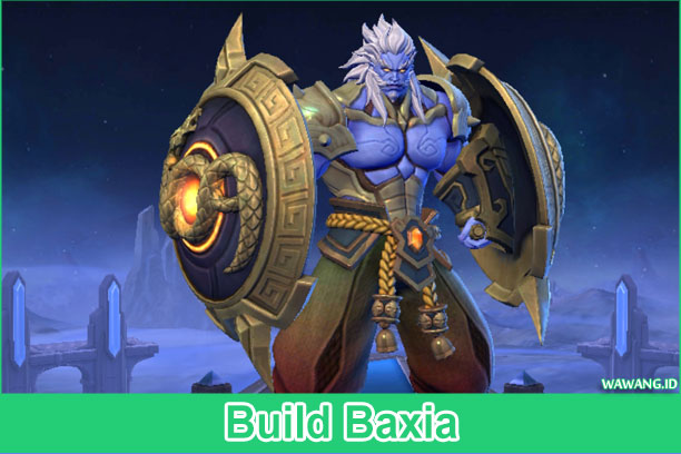 Build Hero Baru Mobile Legends Baxia