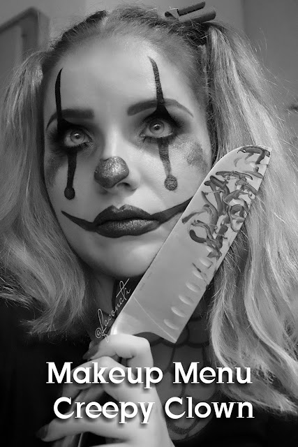 MAKEUP MENU | HALLOWEEN LOOK CZ.1 | CREEPY CLOWN