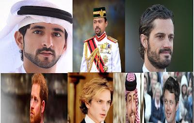 Tajir Melintir,7 Pangeran Tampan Dunia Yang Bisa Membuat Hati Wanita Meleleh