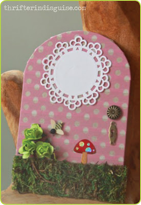 Easy Fairy Door DIY