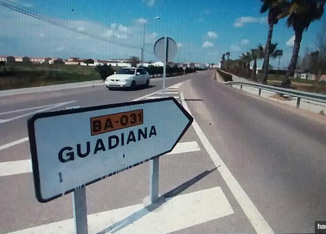 Repudian al dictador Franco en Guadiana (Badajoz)
