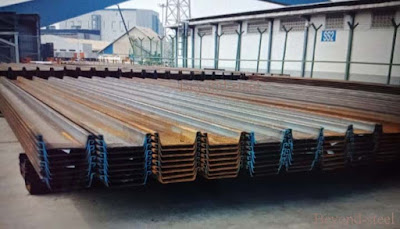 type II steel-sheet-pile