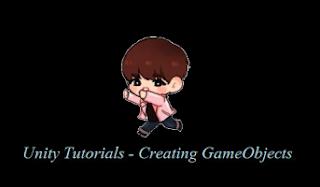 Unity Game Engine: كائنات اللعبة الاساسية والثانوية على Unity