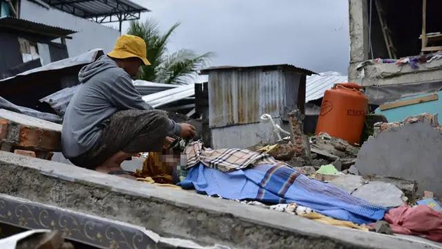 Jumlah Korban Gempa Majene Bertambah, Sudah 27 Orang Ditemukan Tewas
