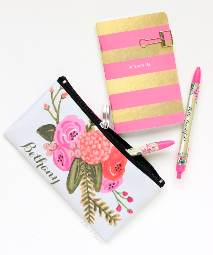 Create mom a beautiful, personalized writing set at Zazzle.com. |sponsored| pitterandglink.com