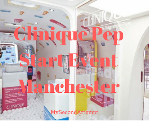Clinique Pep Start Event Manchester